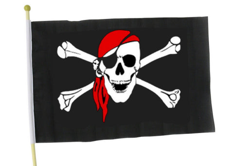 Large Pirate Hand Flag