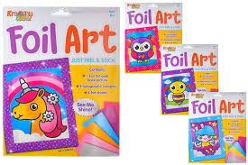 Owl Foil Art Craft Kit