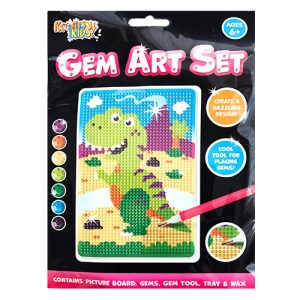 Dinosaur Gem Art Craft Set.
