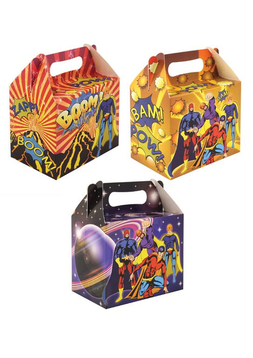 Superhero Party Lunch Box
