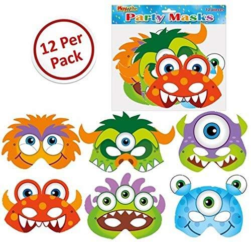 Monster Masks 12 Pack