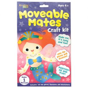 Mermaid Moveable Mates Craft Kit
