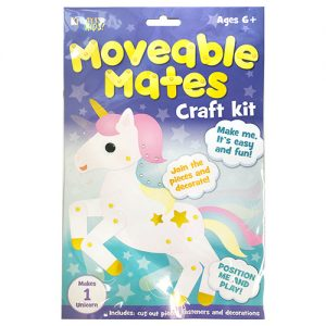 Unicorn Moveable Mates Craft Kit