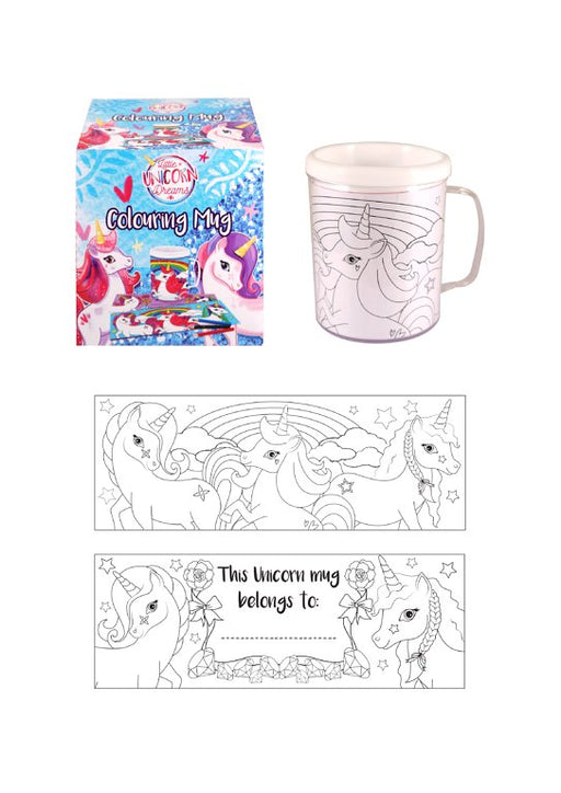 Unicorn Colour in Mug