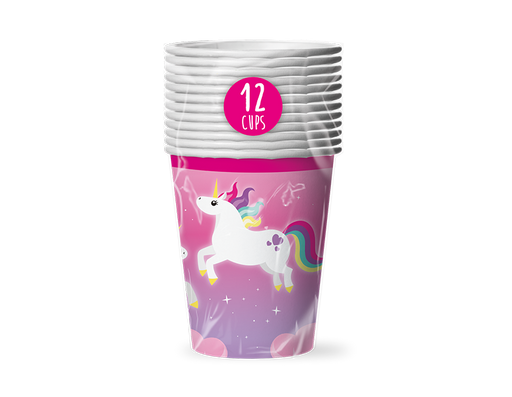 Unicorn Cups 12 Pack