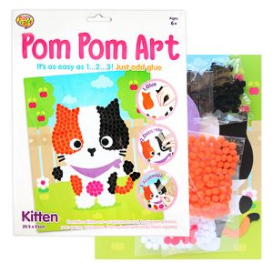Kitten Pom Pom Craft Kit