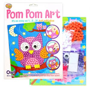 Owl Pom Pom Craft Kit