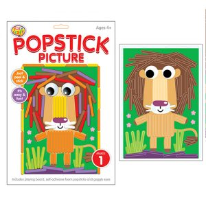 Lion Popstick Picture Kit