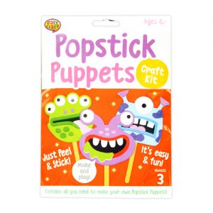 Monsters Popstick puppets kit