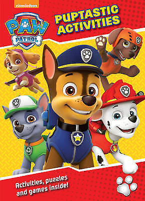 Paw Patrol Puptastic Activities Book