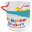 Numbers Tub of Foam Craft Stickers
