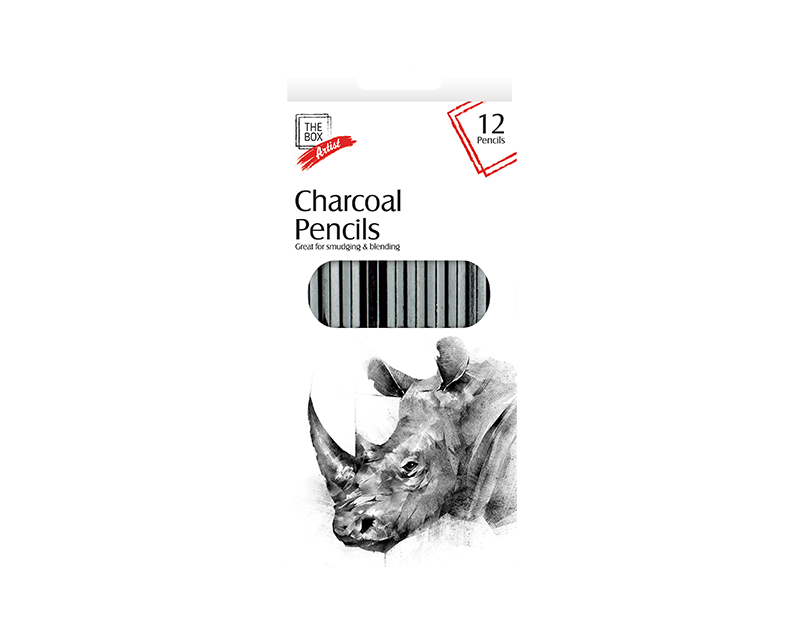 Charcoal Pencils 12 Pack