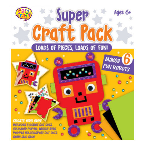 Robots Super Craft Pack Makes 6