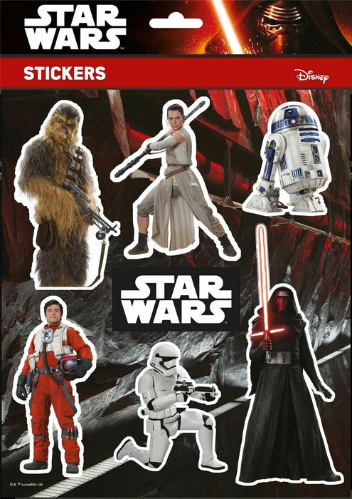 Star Wars Stickers Disney Characters High Quality A4 Pack Vinyl Decal Sheets