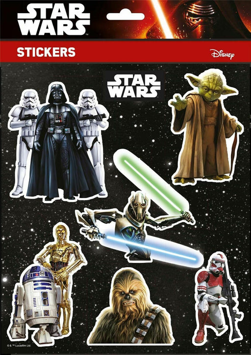 Star Wars Stickers Disney Characters A4