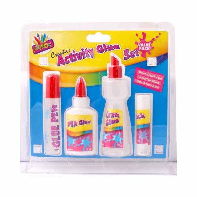 4 Packs of Assorted Glues