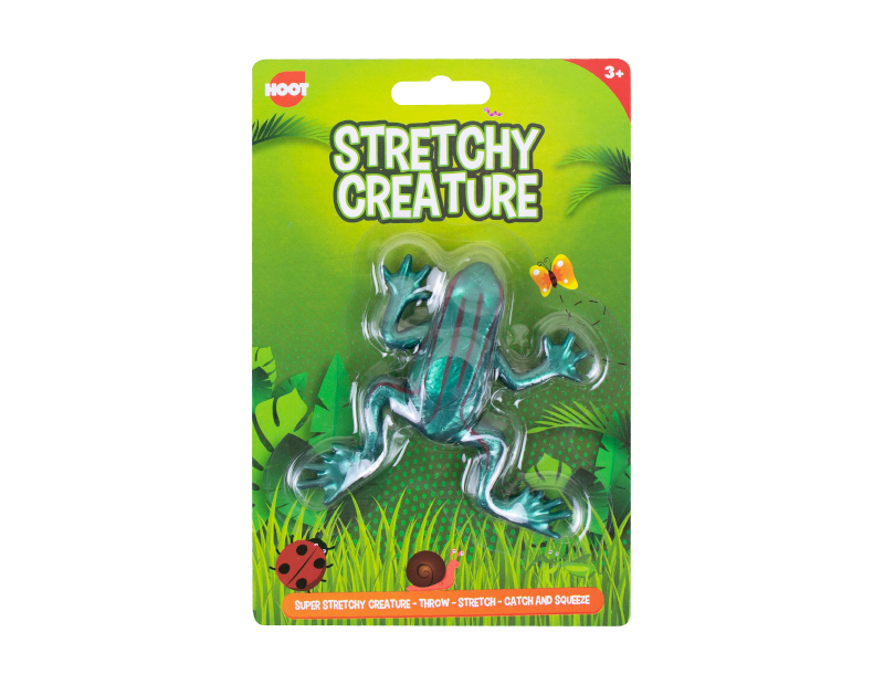 Frog Stretchy Creature Toy