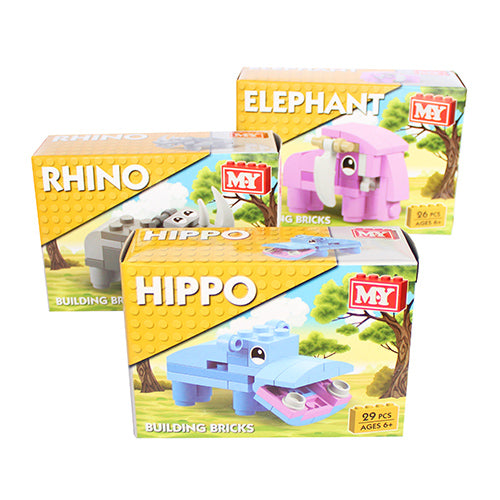 Wild Jungle Animals Brick Sets