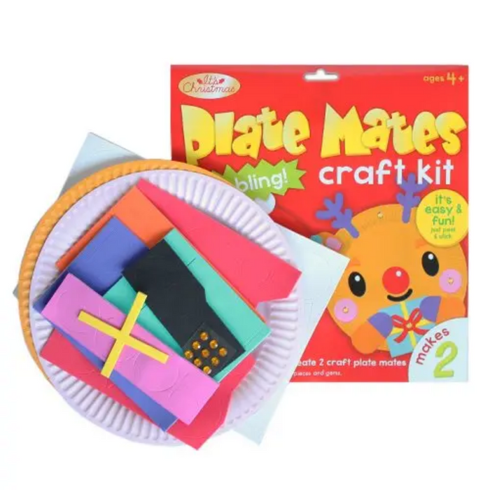 Christmas Plate Mates Craft Kit