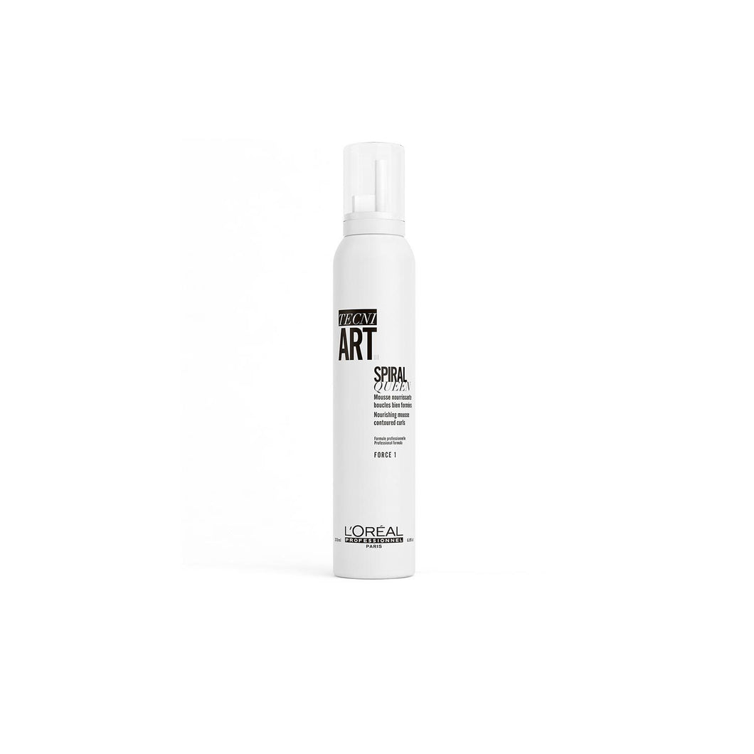 Tecni Art Spiral Queen nourishing mousse for curls