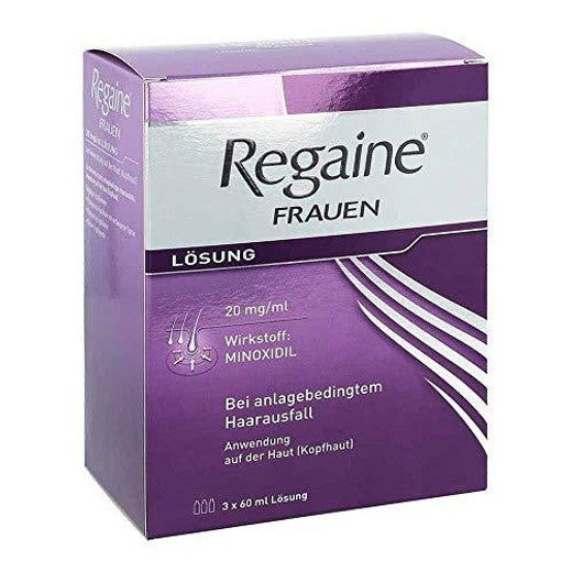 Original Regaine Women Solution, 3X60 Ml