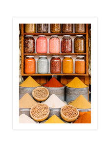 Print 'Moroccan Spices'