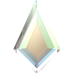 SWAROVSKI 2771 KITE FLAT BACK CRYSTAL AB 12.9X8.3MM