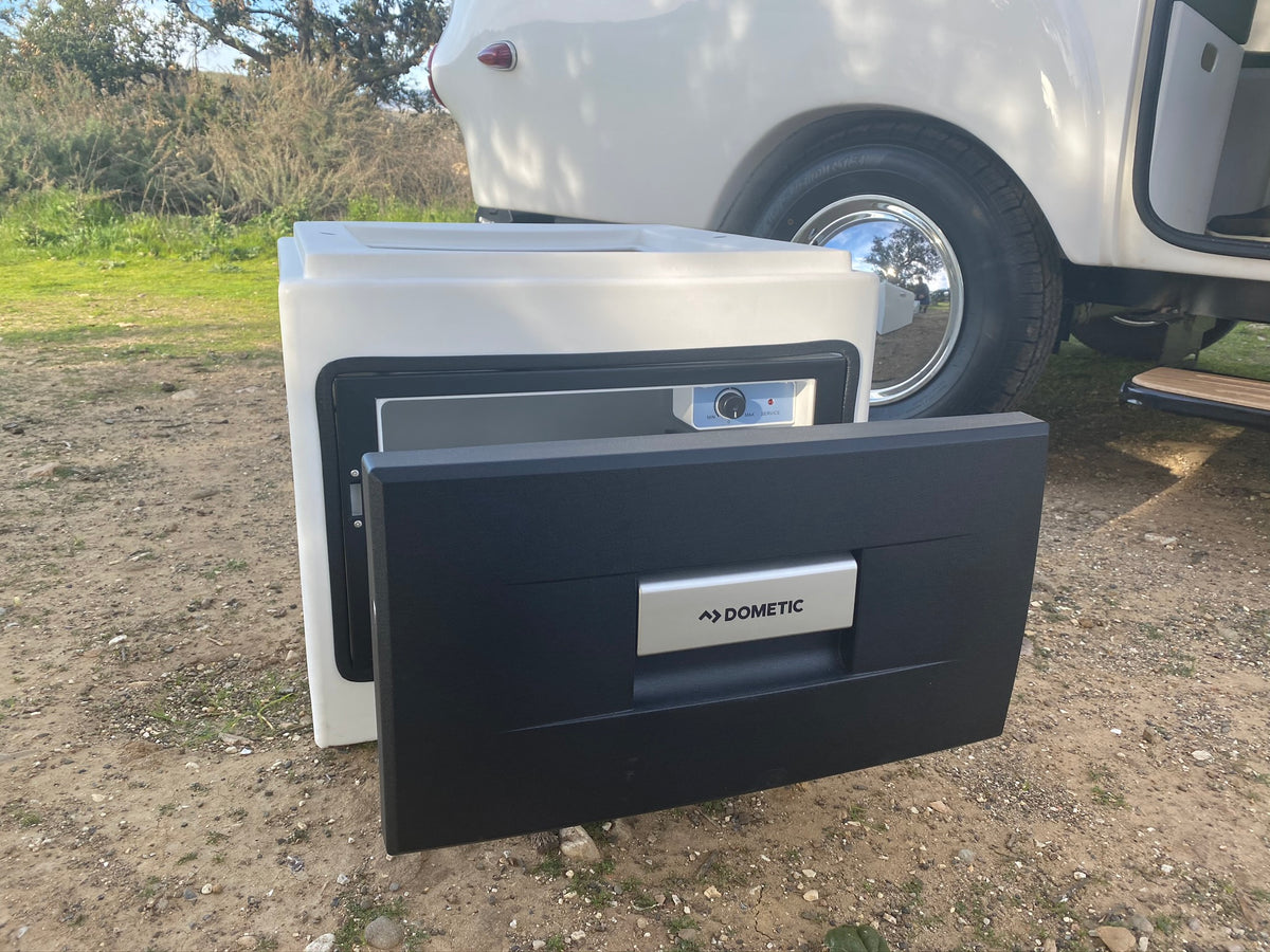Drawer Fridge Cube with Countertop