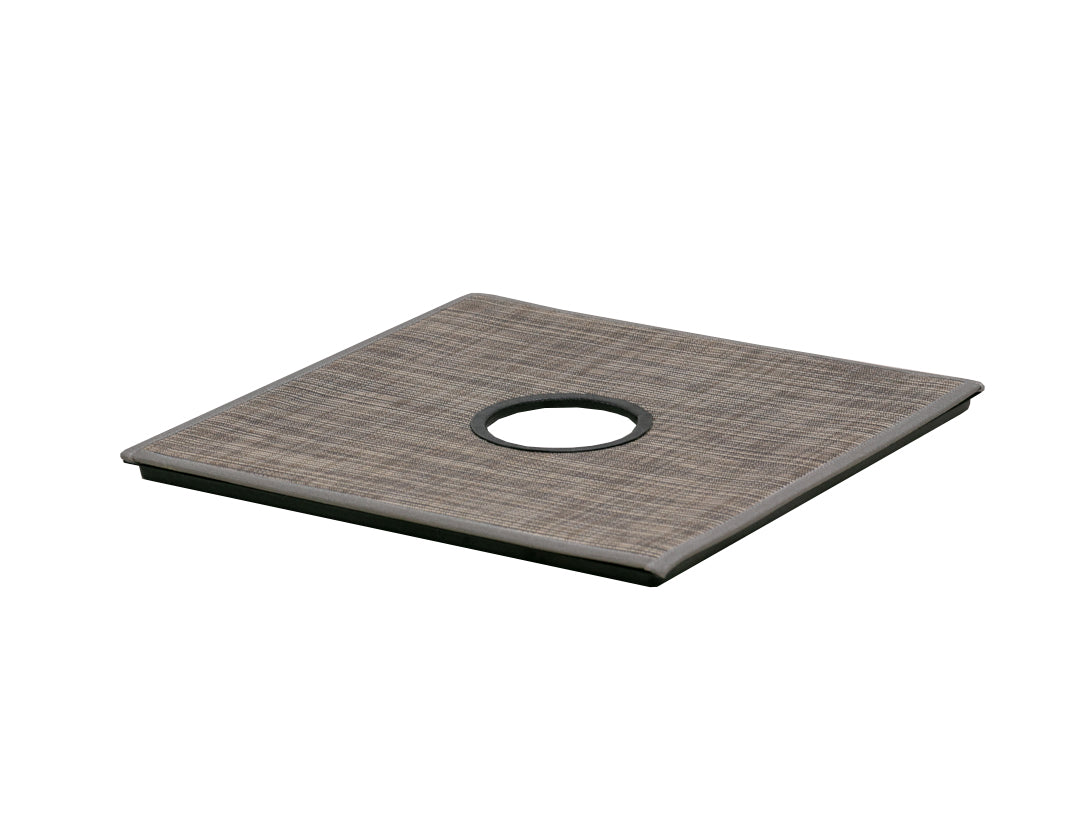 Floor Panel with Table Leg Access