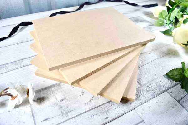 Wooden Placemat Blanks Ideal for Crafting, Pyrography, Painting, Resin Art, Laser Cutting