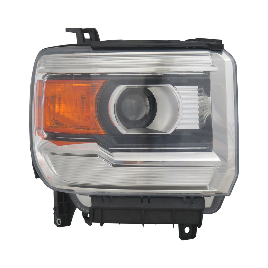 2015-2017 Gmc Pickup_Gmc_Denali_3500 Head Lamp Passenger Side Halogen Without Led High Quality