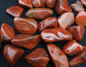 Loose Raw Crystal- Red Jasper