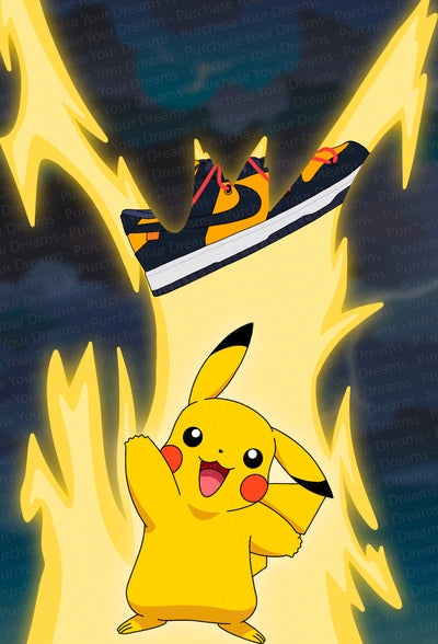 Illustration - Pokemon x Off-White - Pikachu