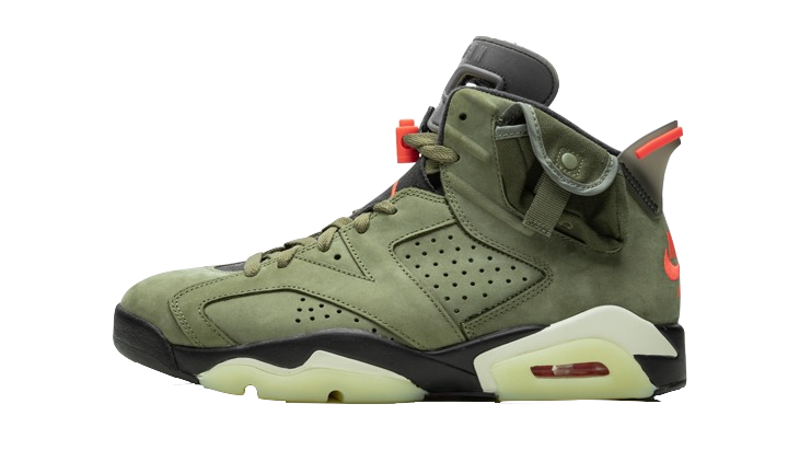 Air Jordan 6 Travis Scott Medium Olive