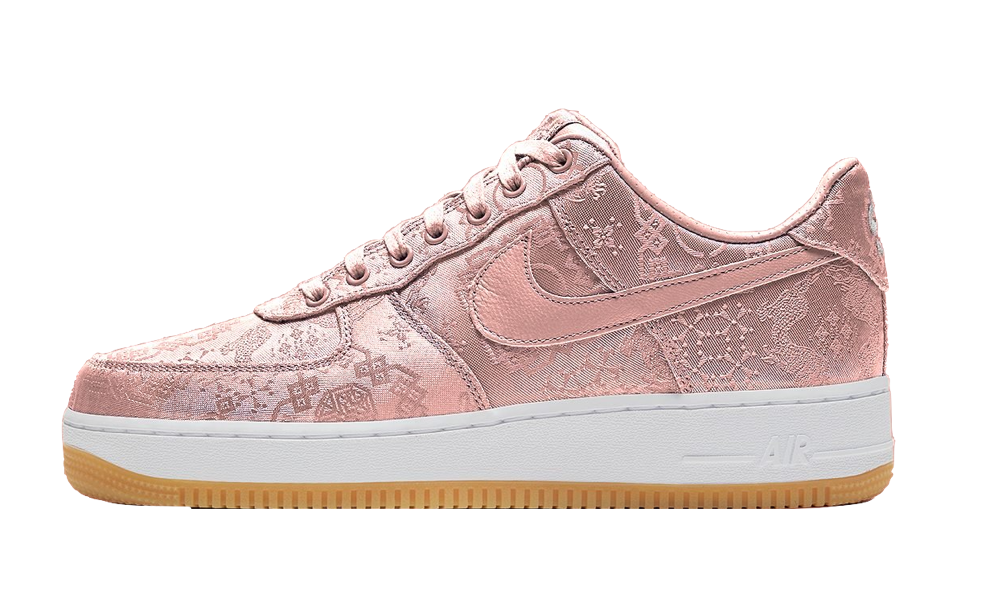 Air Force 1 Low CLOT Pink Silk