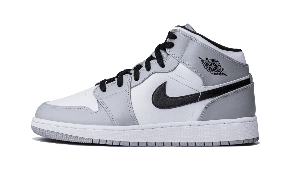 Air Jordan 1 Mid Light Smoke Grey