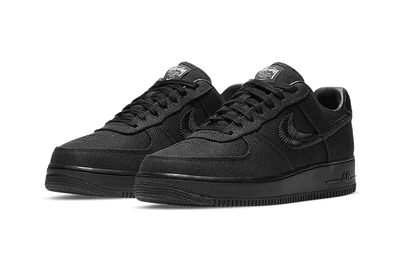 Air Force 1 Low Stussy Black