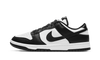 Dunk Low Black White