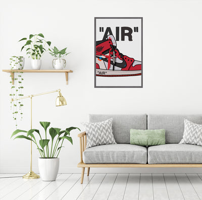 Illustration - Air Jordan 1 High Off-White Chicago