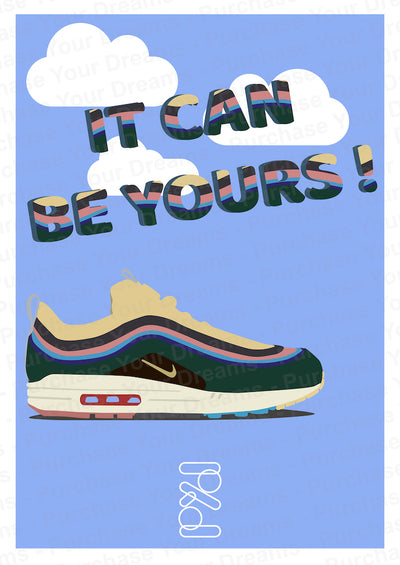 Illustration - It Can Be Yours n°4 - Air Max 1/97 Sean Wotherspoon