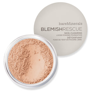 BAREMINERALS Blemish Rescue Skin-Clearing Loose Powder Foundation Medium 3C