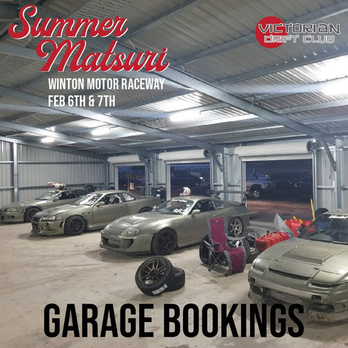 Garages - Summer Matsuri Booking