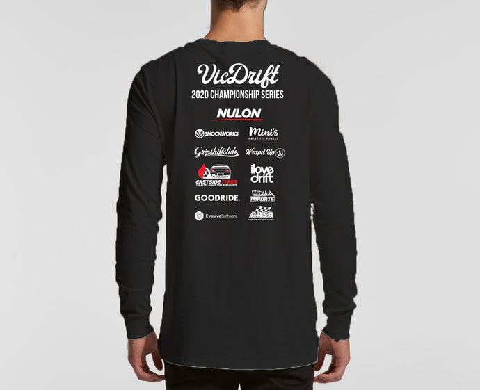 VicDrift 2020 Championship Long Sleeved Shirt