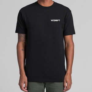 VicDrift Black T-Shirt Mens