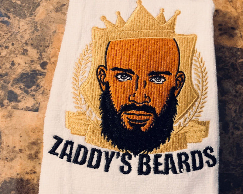 Zaddy's Beards 100% Cotton Face Towel