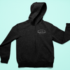 ZIPPER Full-Length Hoodie: Ask About My Female Owned Business