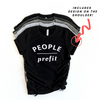 People Over Profit Tee