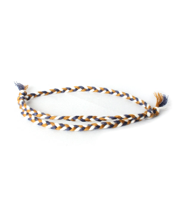 BAHIA BOHO BRACELET BROWN/BLUE/WHITE