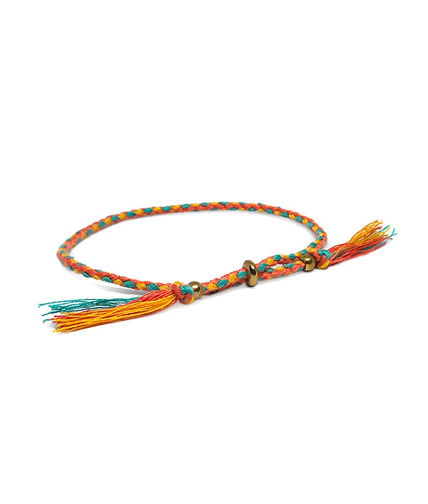ACAPULCO LUCKY CHARM ORANGE/TURQUOISE