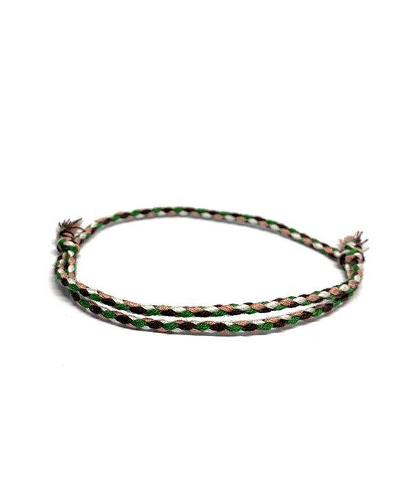 BAHIA BOHO BRACELET BROWN/GREEN